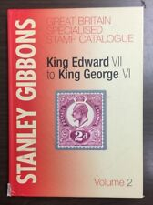 Stanley Gibbons Great Britain Specialised Stamp Catalog Edward Vii - George Vi