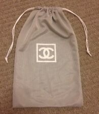 Chanel Drawstring Dust Bag Cover Limited Edition Rare Size 32 Cm X 19 Cm NEW