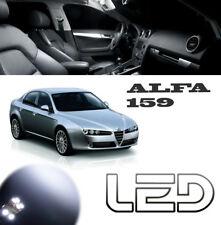 ALFA Romeo 159 15 Ampoules Led Blanc Plaque Veilleuses Habitacle plafonnier