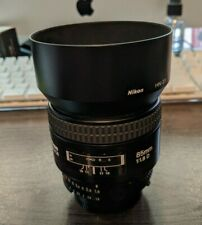 Nikon NIKKOR 85mm f/1.8D Auto Focus Fixed Lens - AMAZING CONDITION A++