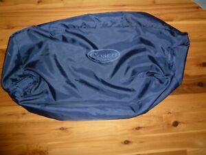 COSCO JUVENILE PACK 'N PLAY REPLACEMENT ZIP CARRYING STORAGE COVER~!~BLACK~~EUC
