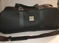 Virgin Atlantic Airlines Records Carry On Duffel Bag Shoulder Strap Rare Vintage