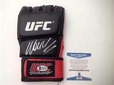 Wanderlei Silva Signed Autographed UFC Glove Beckett BAS COA a