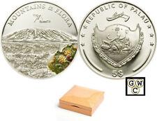 2010 Palau $5 Sterling Silver Kilimanjaro Coin (12763)