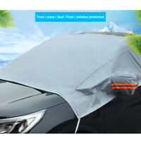 Car Rain Windshield Snow Cover Winter Ice Frost Guard Dust Sunshade Protector