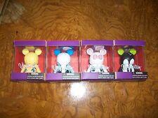 Lot 4 Disney Vinylmation Big Eyes Series GOOFY FACE - Marie- Donald - Tinkerbell