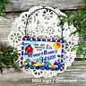Ornament / Mini Sign  Gift N0NNA NONNO House All Relatives Here New in Pkg USA
