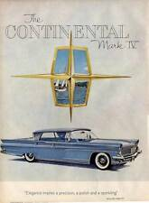 1959 Lincoln Continental Mark IV 4-Door PRINT AD