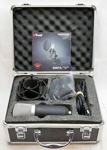 TRUST Emita Streaming Microphone GXT252 Boxed *FREEPOST*