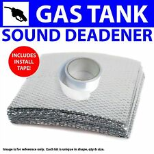 Heat & Sound Deadener Chevy Corvair 1960 - 69 Gas tank Kit + Seam Tape 6324Cm2