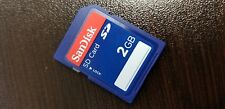 Sandisk 2GB SD Card