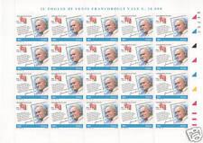 1998 Giornata del francobollo - Italia - minifoglio