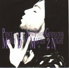 "PRINCE  Money Don't Matter 2 Night PICTURE SLEEVE 7"" record + juke box strip NEW"