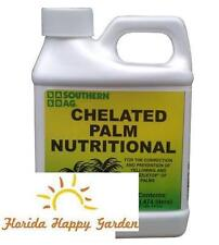 Chelated Palm Nutritional Spray 16oz Pint For Yellowing of Palms