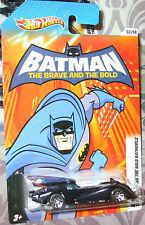 2012 HOT WHEELS COMMERATIVE SERIES BATMAN BEGINS #02-08 BRAVE & BOLD BATMOBILE M