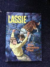 2 Lassie TV Tie-in Books The Wild Mountain Trail & Forbidden Valley Collie Dog