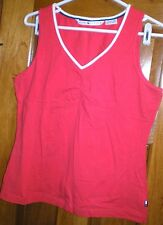 Tommy Hilfiger Women's Tank Top XL Red