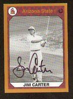 Jim Carter signed Arizona State Collegiate Collection