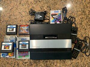 Vintage Atari 5200 w/ box, 2 controllers, 4 games WORKS!