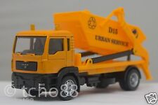 Affluent Town 1/64 diecast MAN Delivery DUMP Truck  forest Vehicle yellow new