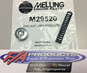 Melling M29520 Chevy LS Engines Oil Pump Standard Pressure BLUE Relief Spring