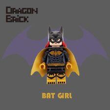 **New** DRAGON BRICK Custom Bat Girl Lego Minifigure