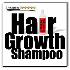 NATURAL SHAMPOO HAIR LOSS REGROWTH Grow Fast Growth & no Minoxidil side effects