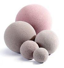 6 x 7 CM OASIS SEC BALL-Sfera Fiorista Fiori Artificiali Di Seta a secco floreale schiuma