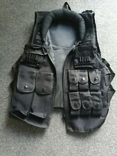 Black Assault Vest