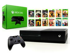 Microsoft XBOX ONE Konsole 500GB Schwarz +Controller +Spiel Spielkonsole USK18