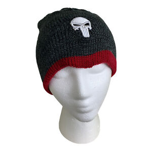 🚨MARVEL COMICS DD DAREDEVIL PUNISHER LOOT CRATE EXCLUSIVE REVERSIBLE BEANIE🚨