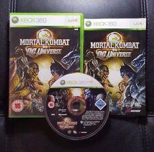 Mortal Kombat vs DC Universe (Microsoft Xbox 360, 2008) Xbox 360 Game