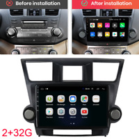 """10.1"""" For 08-13 Toyota Highlander Android 9.1 Stereo Radio GPS Multimedia Player"""