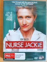 Nurse Jackie : Season 1 [ 3 DVD Set ] Region 4, BRAND NEW & SEALED, Free Fast Po