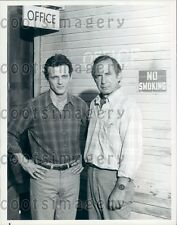 1985 Actor Aidan Quinn Ben Gazzara TV Movie An Early Frost Press Photo