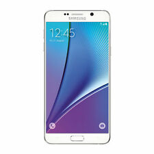 Samsung Galaxy Note 5 SM-N920 32GB White (AT&T) GSM Unlocked.Good 7/10