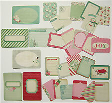 PROJECT LIFE   [BUNDLED UP - WINTER] Theme Cards  - 30 double-sided cards