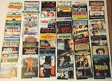 Lot of 25 Random Sci-Fi Fantasy Themed Movie TV Backer Cards Mini Posters