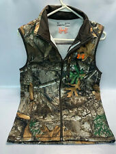 Under Armour Mens Coldgear Vest Realtree edge Hunting Fitted MD Size Small