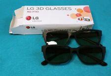 2 Pairs of LG 3D Glasses AG-F110
