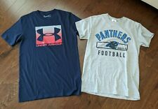 Men's Lot Of T-shirts Size Small Panthers Under Armour size S Small