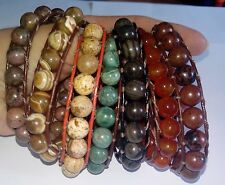 Wickel Armband Chan Luu Art Jaspis Leder