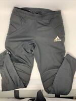 Adidas Football Men Soccer Tierro 13 Goalkeeper Pants Climalite Black  M