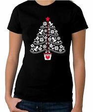 Christmas Tree Stencil Women's T-Shirt