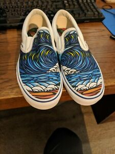 Vans Limited Edition Triple Crown of Surfing Slip On shoes