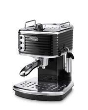 DeLonghi Scultura Traditional Espresso  Cappuccino Coffee Machine - Black ECZ351