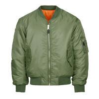Airsoft MA1 flight jacket, bomber doorman, green blue black