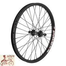 "ALIENATION DEVIANT 20"" x 1.75""  ALLOY BLACK BICYCLE FRONT WHEEL"