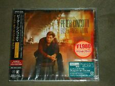 Peter Cincotti East Of Angel Town Japan CD sealed