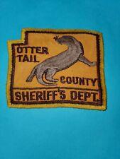 Otter Tail County Minnesota Sheriff's Dept Patch